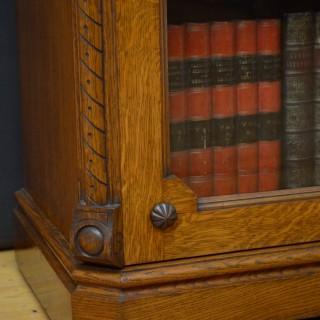 Superb Victorian Oak Bookcase