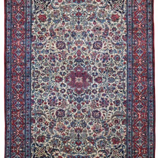 Antique Nain Tudeshk rug