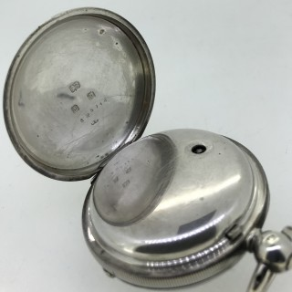 J G Graves Pocket Watch
