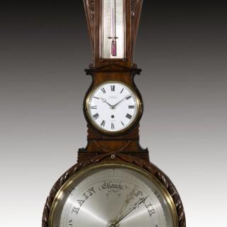 Rare Clock/Barometer by Ganthony of London