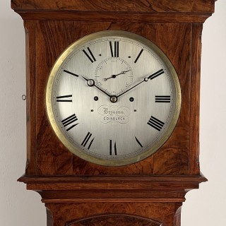 Rare Regulator longcase clock by Brysons of Edinburgh