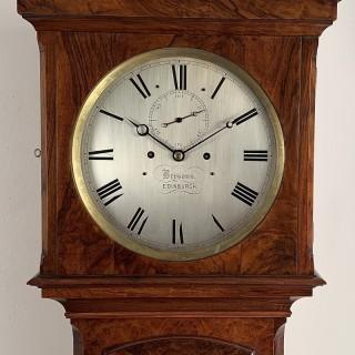 Rare Regulator longcase clock by Brysons of Edinburgh