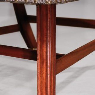 Pair of mid 18th Century mahogany Gainsborough Chairs