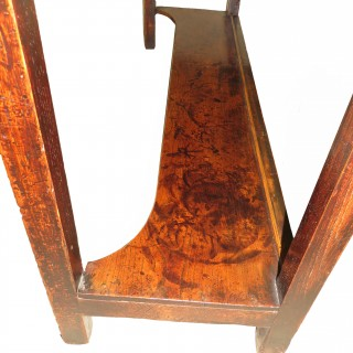 18th Century English Antique Oak Potboard Dresser Base