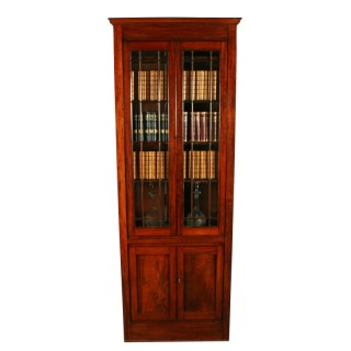 Georgian Mahogany Alcove Bookcase