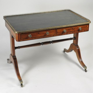 Fine quality George III mahogany Library Table/Desk