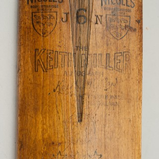 Gray Nicolls Keith Miller Autograph Cricket Bat, Toilet Roll Holder