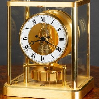 Jaeger Le Coultre Gold Plated Atmos Clock