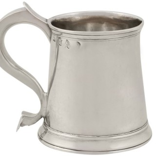 Sterling Silver Lady's Mug - Antique George II (1728)