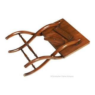 Folding Mahogany Coffee Table