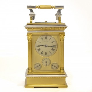 Grande Sonnerie Carriage Clock with Calendar-work