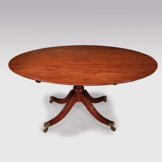 Late 18th Century George III period mahogany Breakfast Table