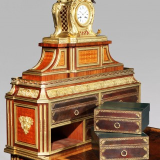 A Magnificent Cartonnier in the Louis XVI Manner after the Original Creation Made by Simon Oeben