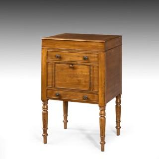 A George III Period Mahogany Wash Stand