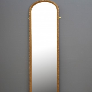 Tall and Slim Victorian Mirror H189cm