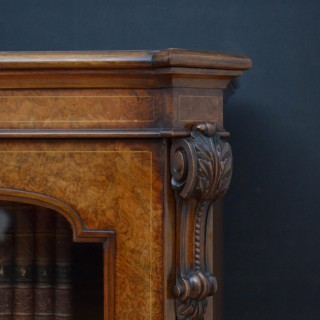 Exceptional Quality Victorian Bookcase