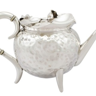 Sterling Silver Teapot - Antique Victorian (1885)