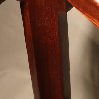 Early 19th Century Regency period mahogany Canterbury