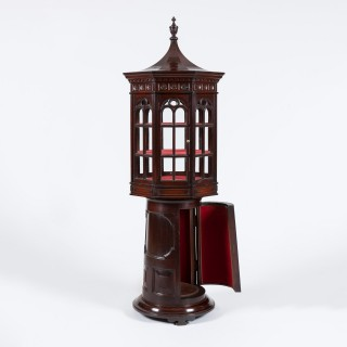 An Unusual Revolving Display Cabinet