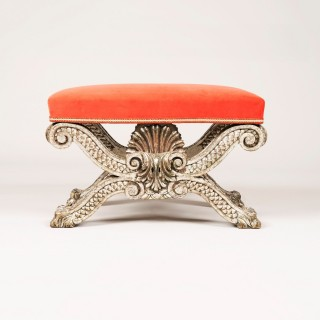 A Footstool after a design by William Kent
