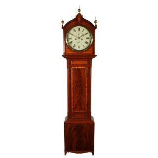 Regency Mahogany Grandfather Clock