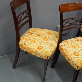Set of 8 George III Style Dining Chairs