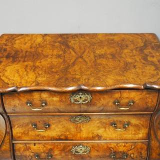 Dutch Bombe Chest of Drawers