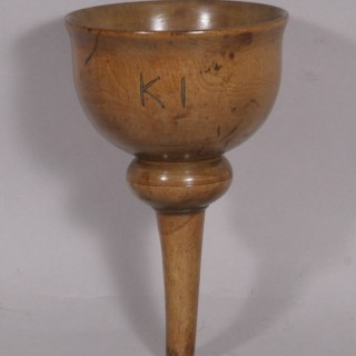 Antique Treen 19th Century Sycamore Funnel