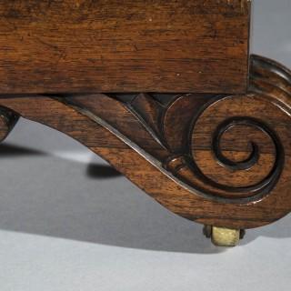 Regency Rosewood Circular Centre Table