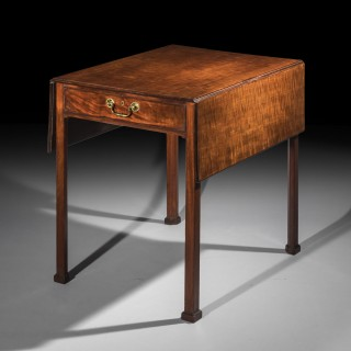 George III Chippendale Pembroke Table