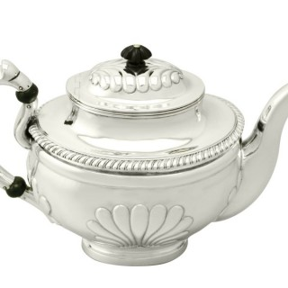 Finnish Silver Teapot - Antique 1835
