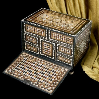 A Very Rare Ottoman Table Box (Circa 1600)