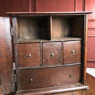Good Oak Spice Cupboard