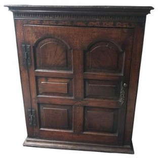 Hanging Cupboard, England Or Wales 18th Century