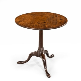 A Particularly Good George III Period Mahogany Tilt Table