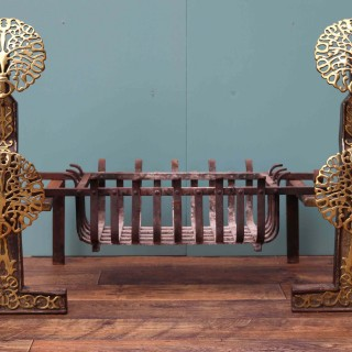 Arts & Crafts Style Fire Grate