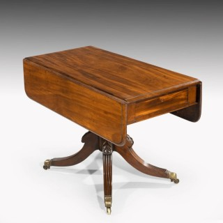 A Regency Period Mahogany Pembroke Table
