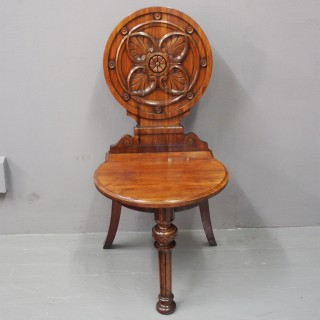 Sabicu Hall Chair by J Whitehead