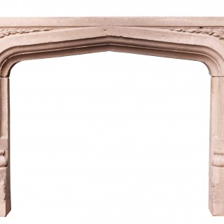 Antique Limestone Fire Surround
