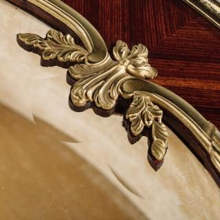 A Louis XV Style Gilt-Bronze Mounted  Vitrine Table By François Linke The Mounts Designed by Léon Messagé