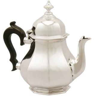 Sterling Silver Teapot - Antique George V (1919)