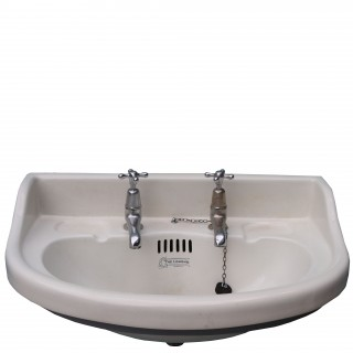 Reclaimed Porcelain Wash Basin / Sink