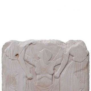 Reclaimed Classical Plaster Wall Plaque