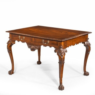A Finely Carved Irish Centre Standing Table