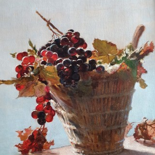 The Grape Vine, Cannes by RUTH MERCIER (1882-1915)