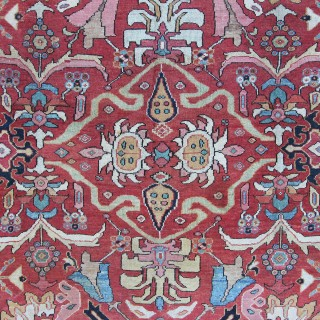 Antique Sultanabad carpet