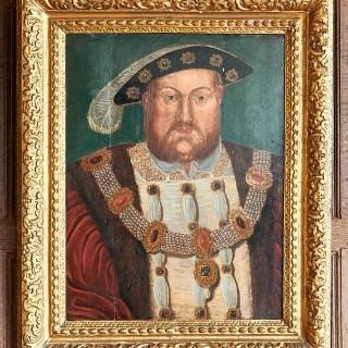 Portrait King Henry VIII