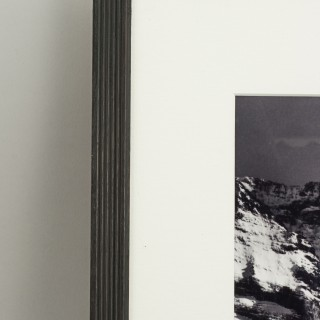Vintage Style Photography, Framed Alpine Ski Photograph, Safety First.