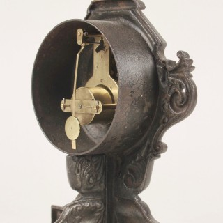 Cast iron French Mantel Clock