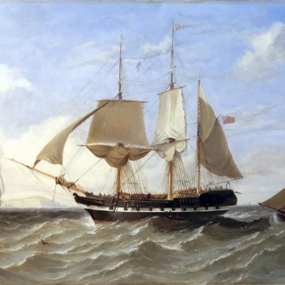 Three masted Barque,
